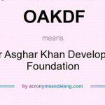 Agencies Sealed Office of Omar Asghar Foundation in Abbottabad