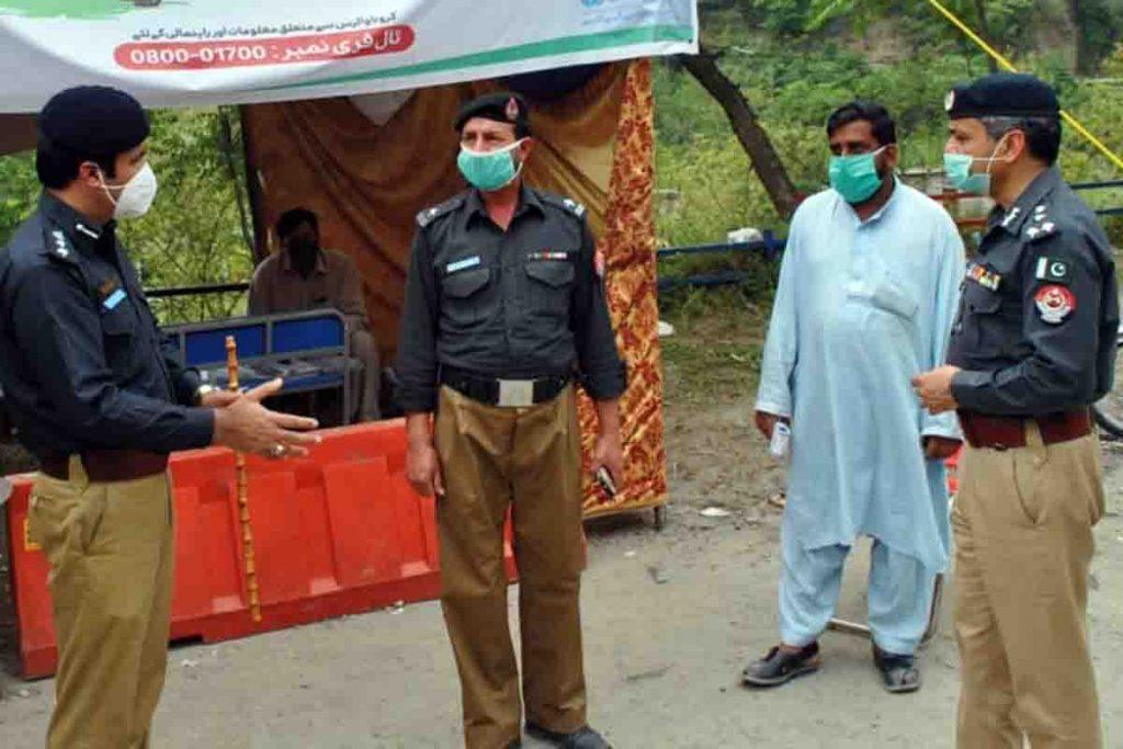 DIG Hazara Visit to Different Police Posts of Abbottabad