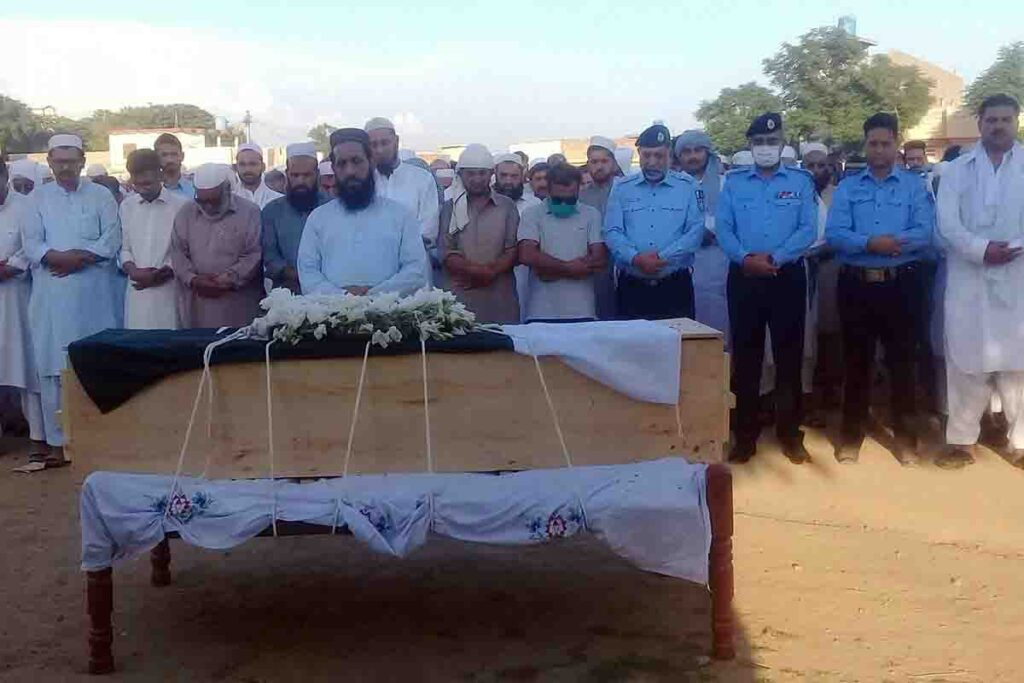 Head Constable Sajjad Tanoli Martayred by Firing of Terrorists in ISB
