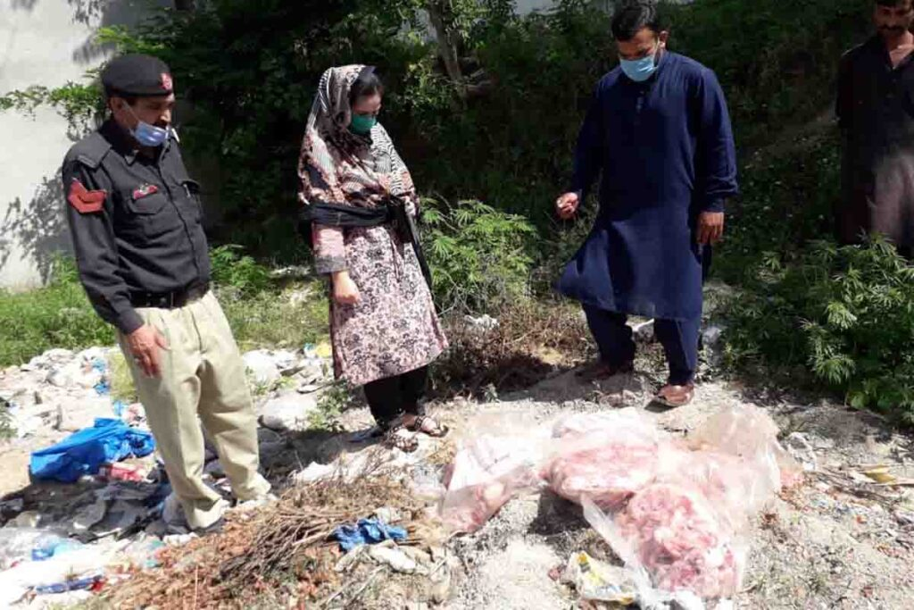 Non Standard Mutton Dispose by Food Dept.