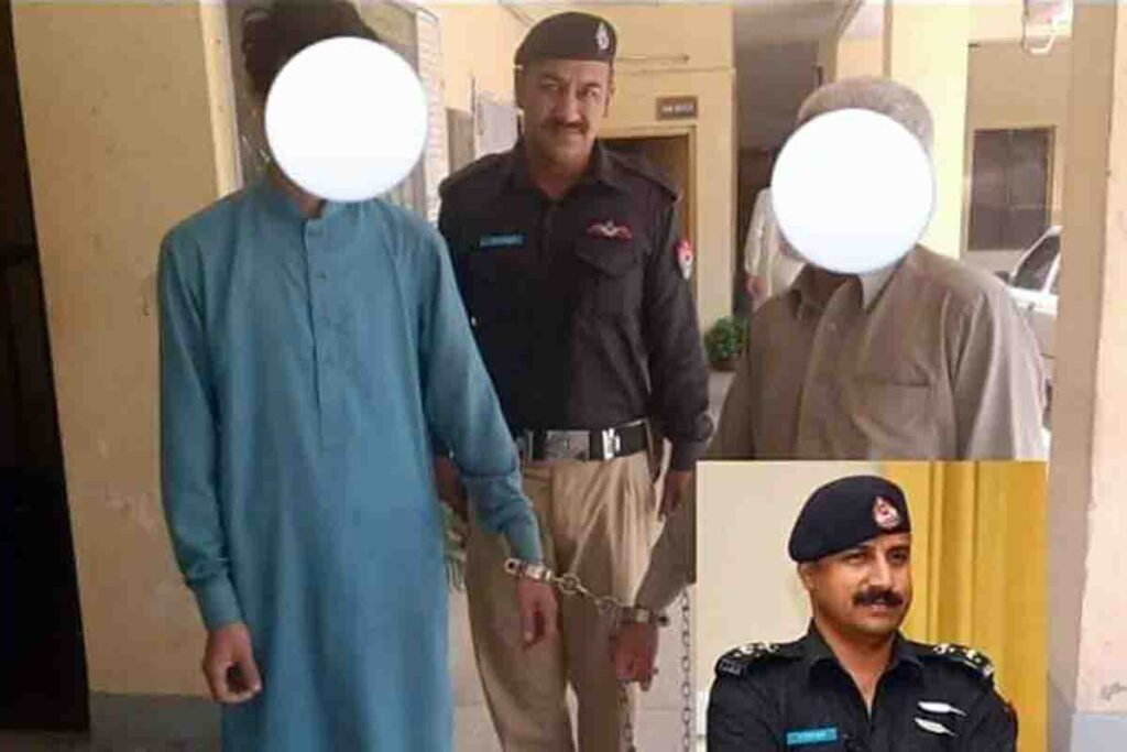 SHO PS Mirpur Arrested Drugs Dealers