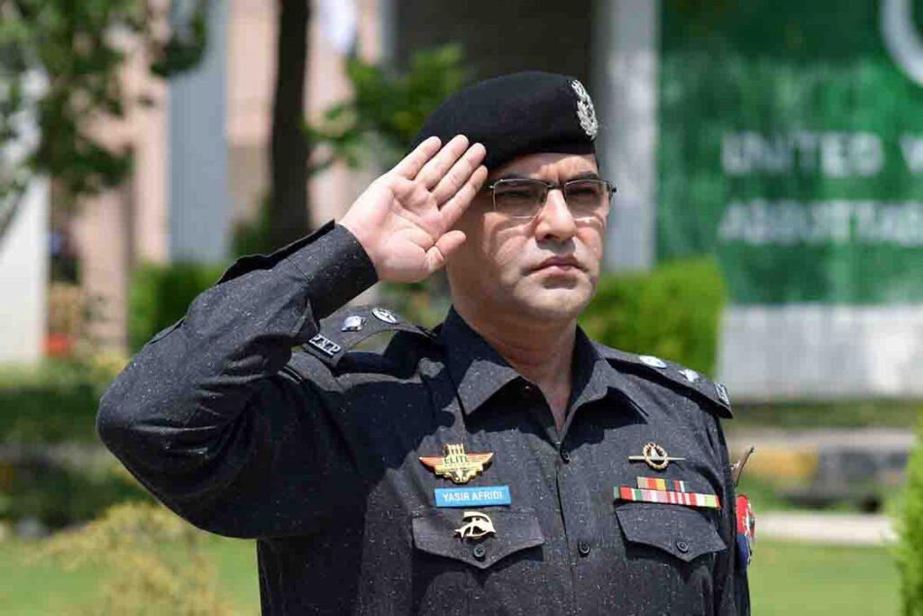 DPO Yasir Afridi