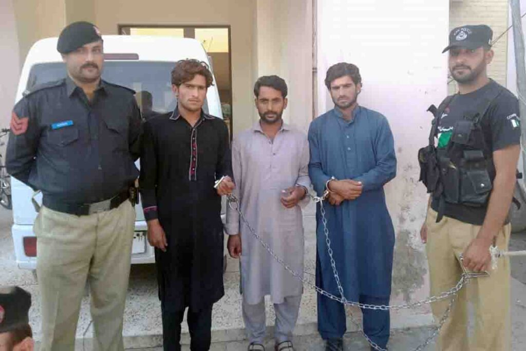 Three Robbers Arrested by SHO PS Lora