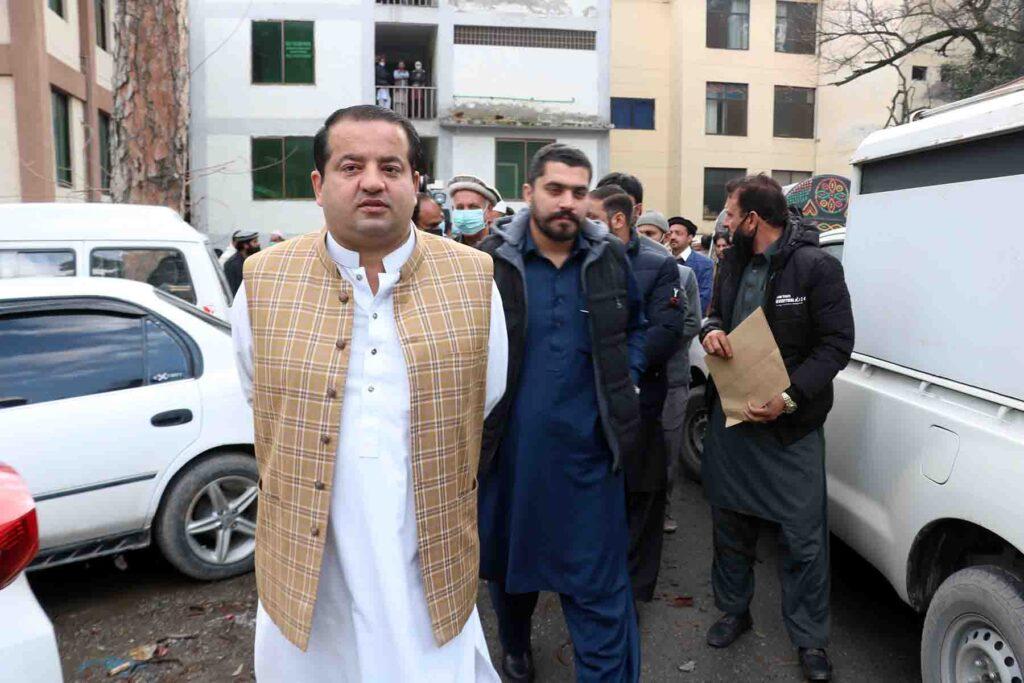 ABBOTTABAD: Dec14 – Member Khyber Pakhtoonkhawa Assembly Faisal