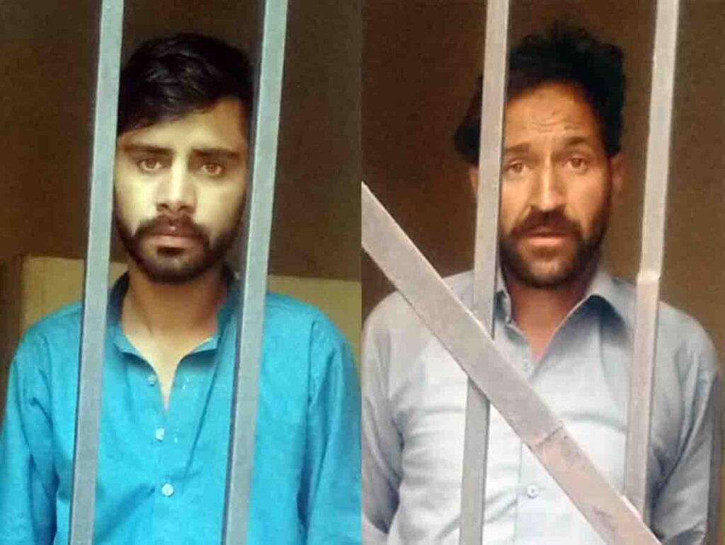 Abbottabad city arrested three famous drug dealers.