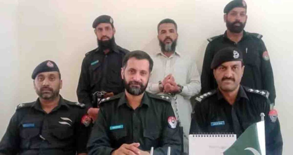 Abbottabad A man accused of killing a relative in a property dispute has been arrested.